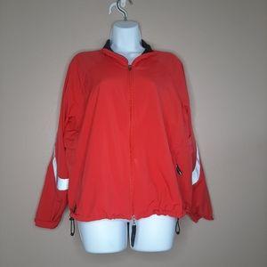 REI Double zipper windbreaker running jacket